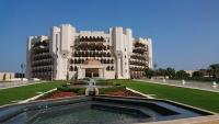 Oman, Al Bustan Palace Hotel, Außenansicht