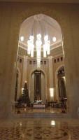 Oman, Al Bustan Palace Hotel, Empfangshalle