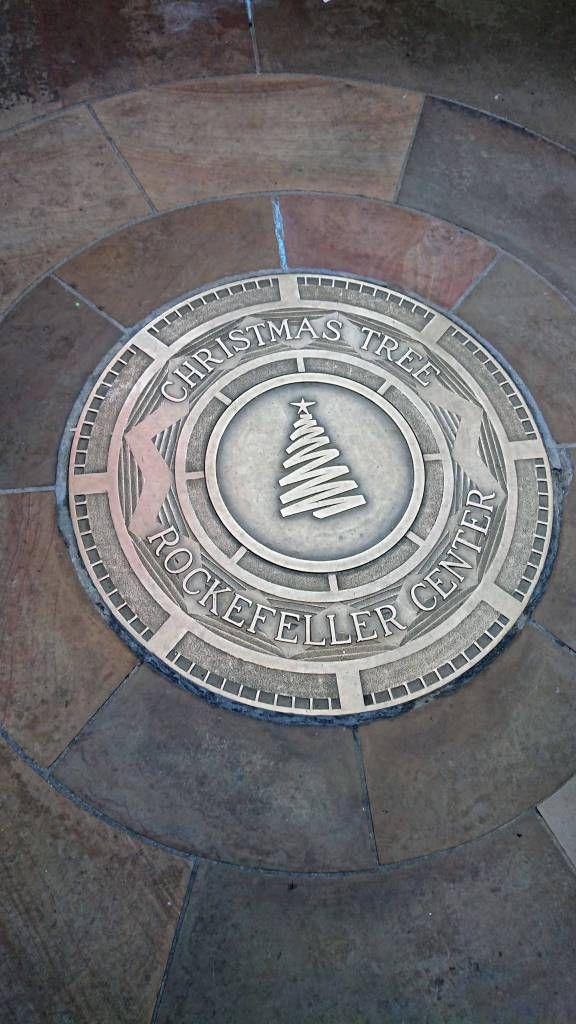 New York, Rockefeller Center, Weihnachtsbaum Standort