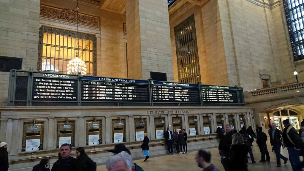New York, Central Station