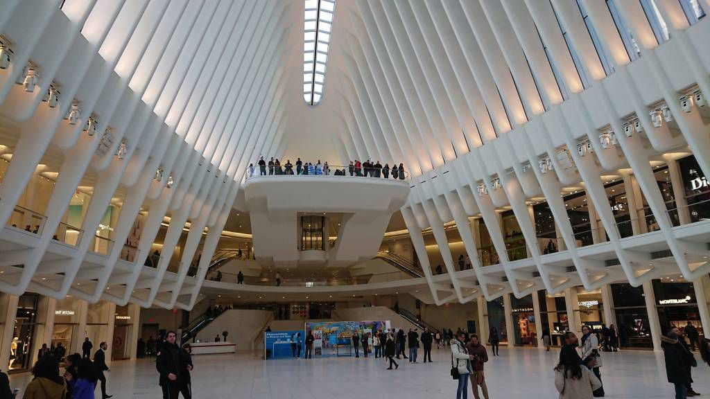 New York, Bereich U-Bahn Station WTC Cordlandt
