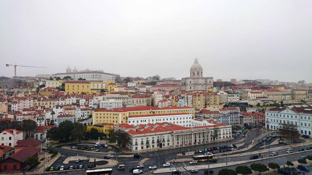Lissabon, Blick vom Schiff