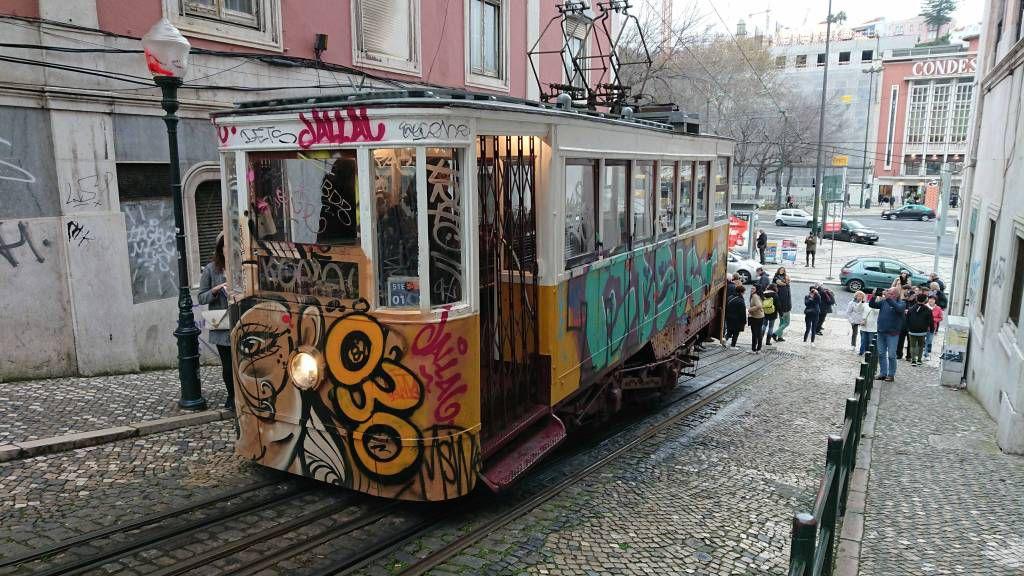 Lissabon, Zahnradbahn