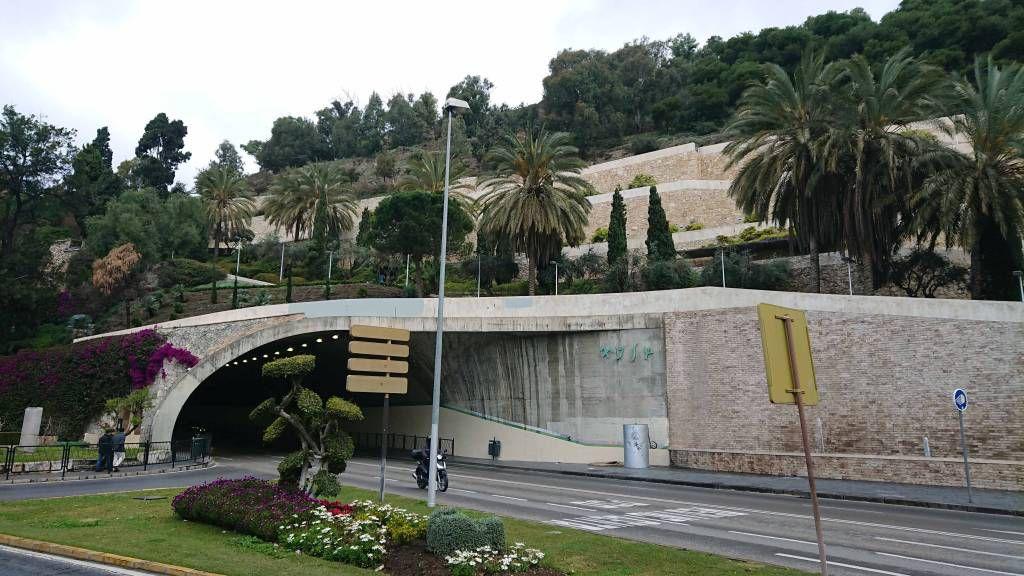 Málaga, Straßentunnel