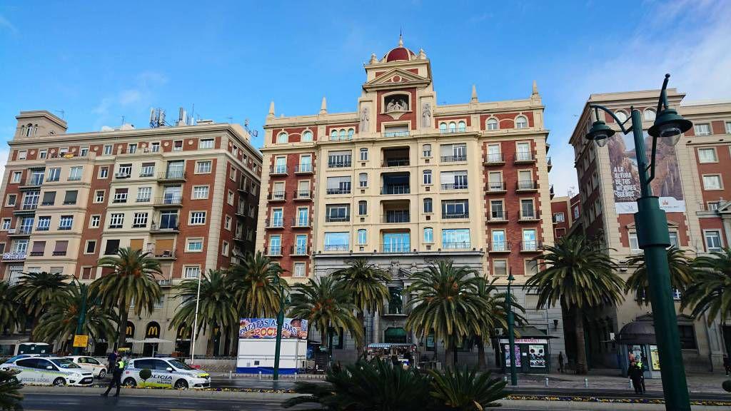 Málaga, Wohngebäude