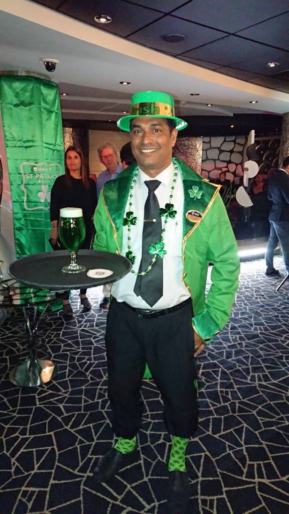 MSC Divina, St. Patrick Day