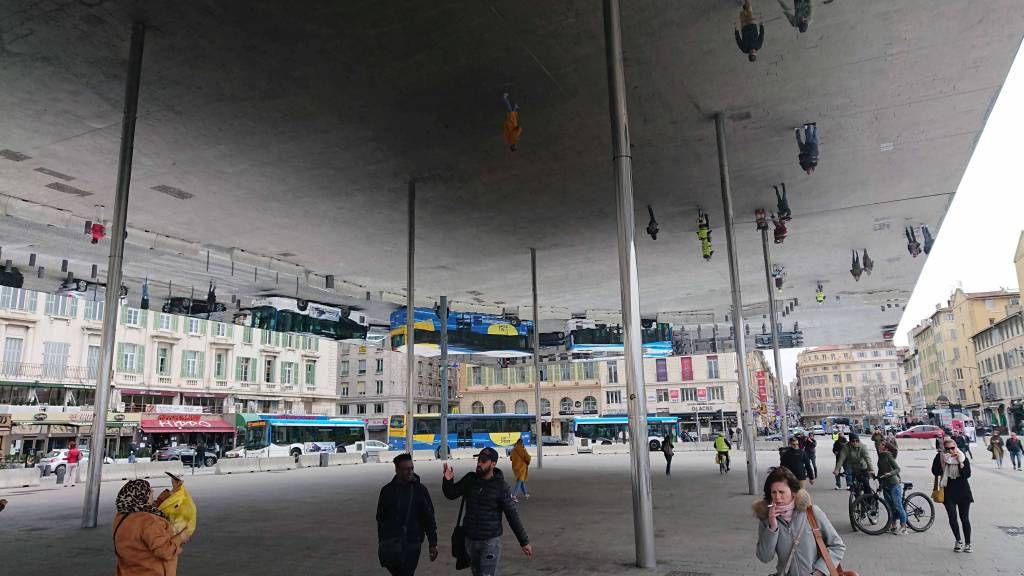 Marseille, L'Ombrière de Norman Foster