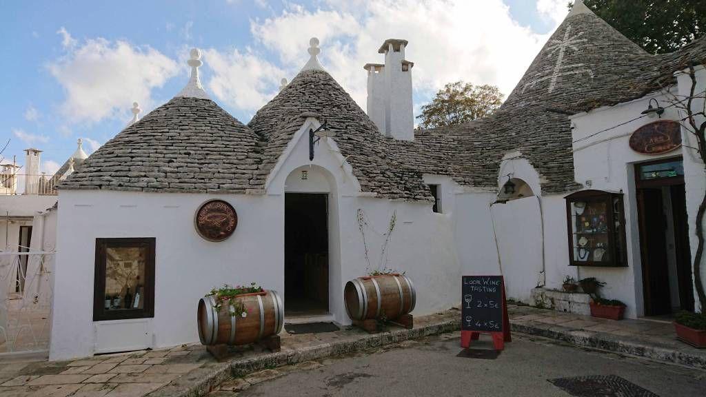 Alberobello, Trulli Gaststätte