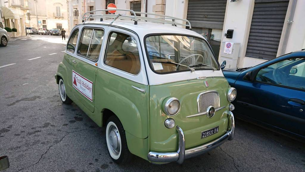 Alberobello, Alter Fiat Bus