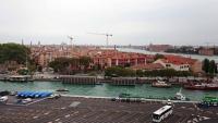 Venedig, Blick von der MSC Lirica