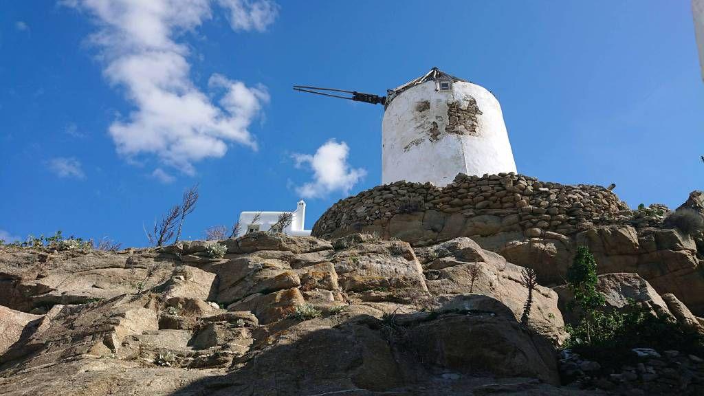 Mykonos, Boni's Windmühle