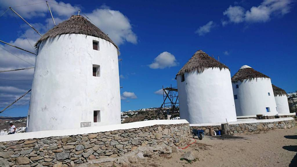 Mykonos, Mykonos Stadt, Windmühlen