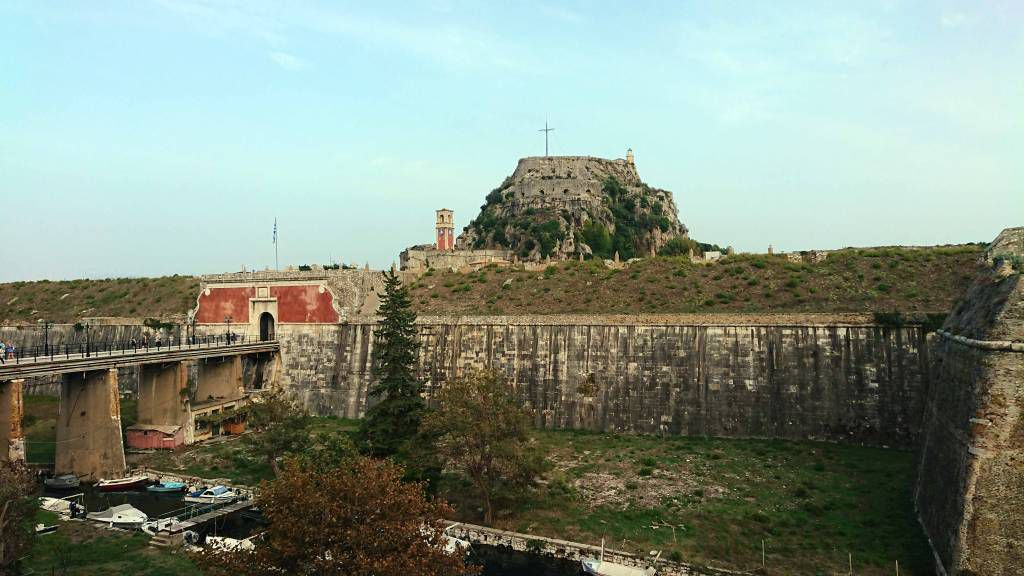 Korfu, Korfu Stadt, alte Festung