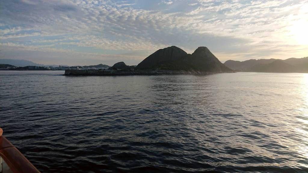 Einfahrt in die Bucht von Rio