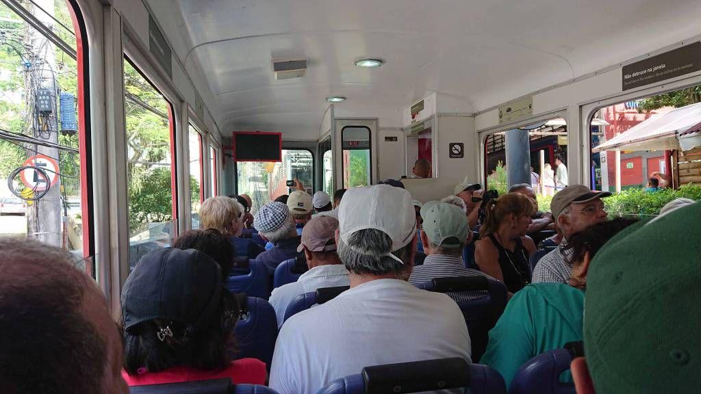 Rio, Zahnradbahn zum Corcovado