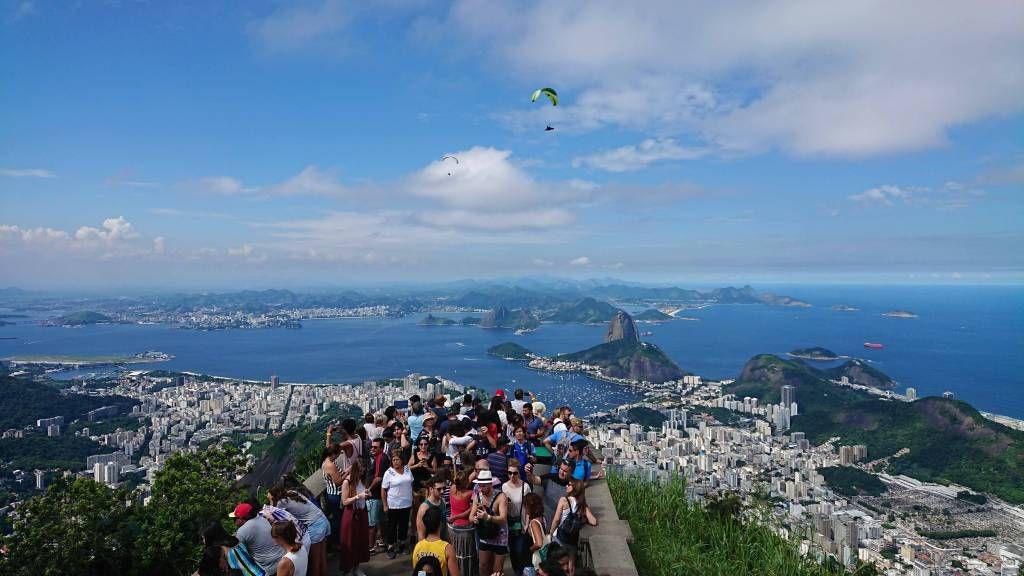 Rio, Blick vom Corcovado