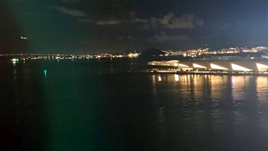 Rio, Museum of Tomorrow bei Nacht
