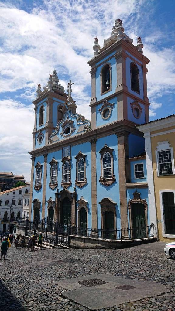 Salvador da Bahia, Pelourinho, Igreja Nossa Senhora do Rosário dos Pretos
