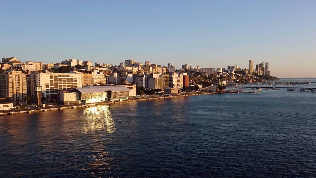Salvador da Bahia, Blick vom Hafen