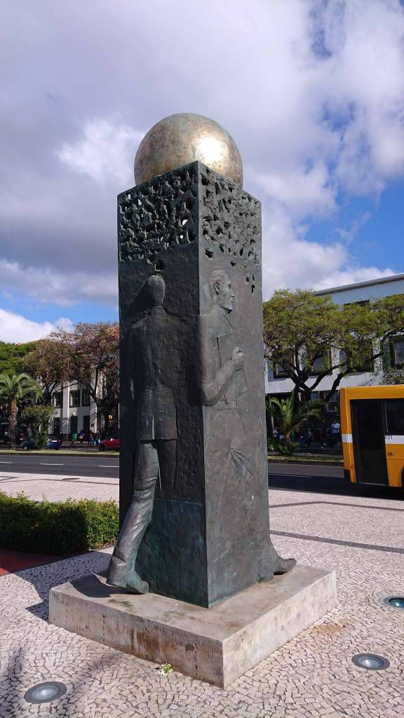Madeira, Funchal, Straßenkunst