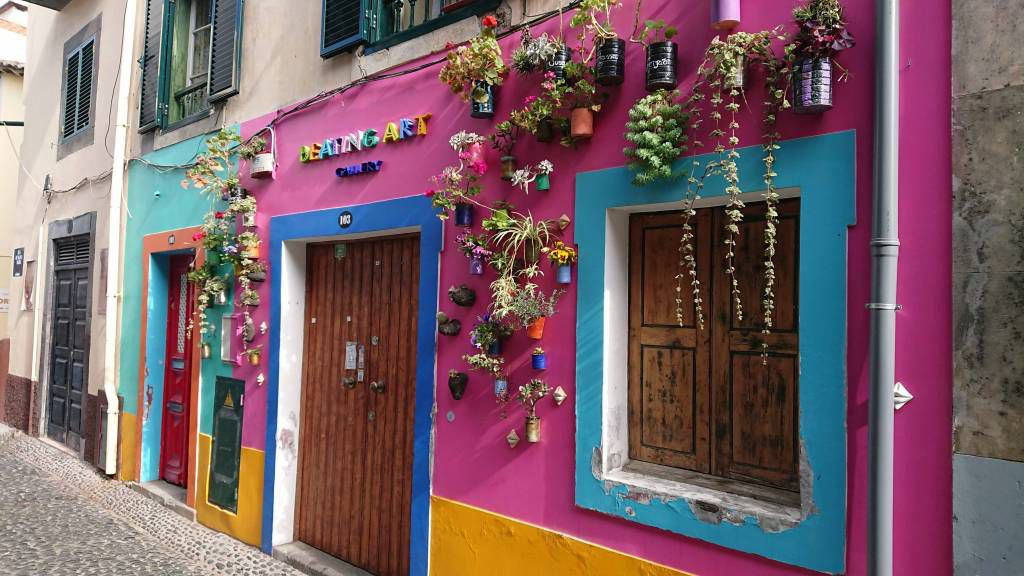 Madeira, Funchal, Gebäude