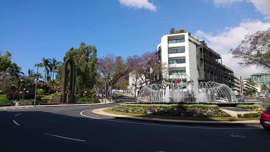 Madeira, Funchal, Straßenszene