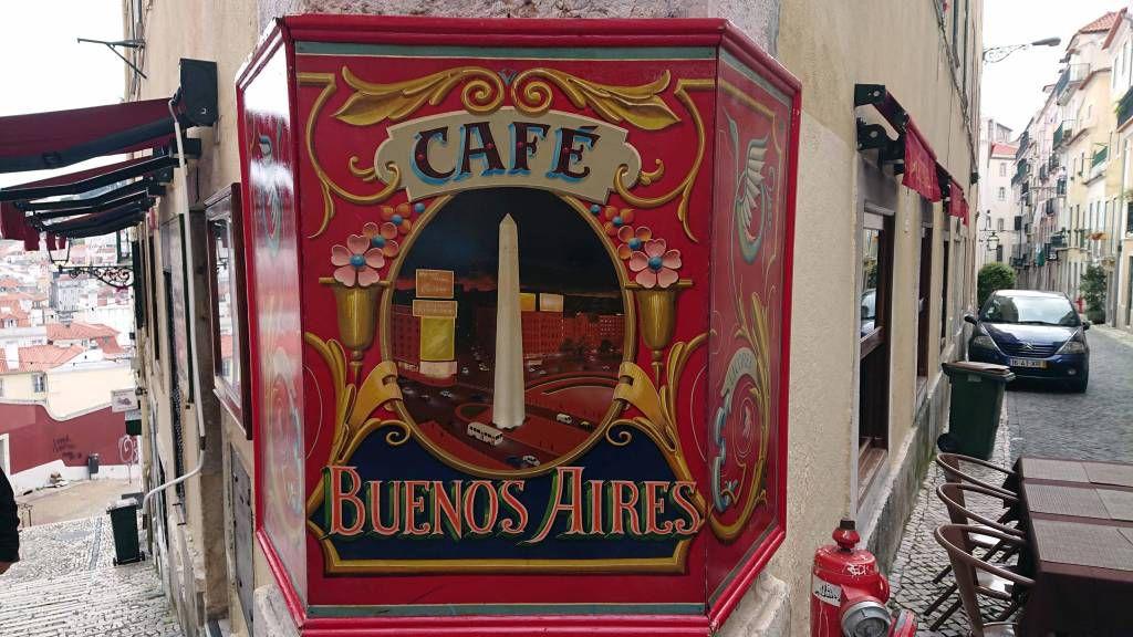 Lissabon, Café Buenos Aires