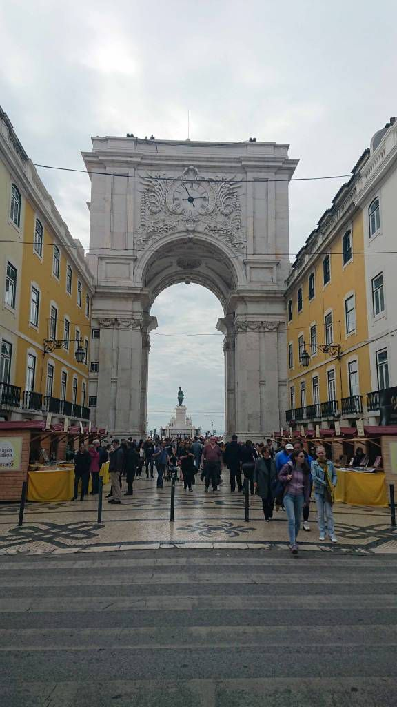 Lissabon, Arco da Rua Augusta