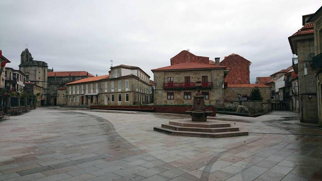 Pontevedra, Platz