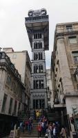 Lissabon, Aufzug zur Oberstadt