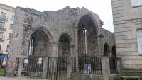 Pontevedra, Kirchenruine