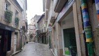 Pontevedra, Altstadt