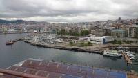Vigo, Blick vom Schiff