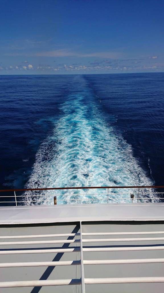MSC Poesia, auf See
