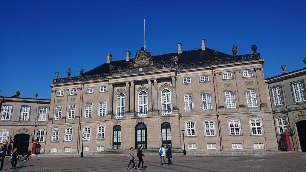 Kopenhagen, Schloß Amalienburg