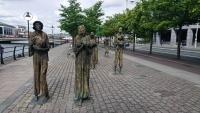 Dublin, Auswandererdenkmal