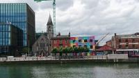 Dublin, Blick über die Liffey