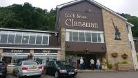 Schottland, Balmore, Loch Ness, Clansman Hotel