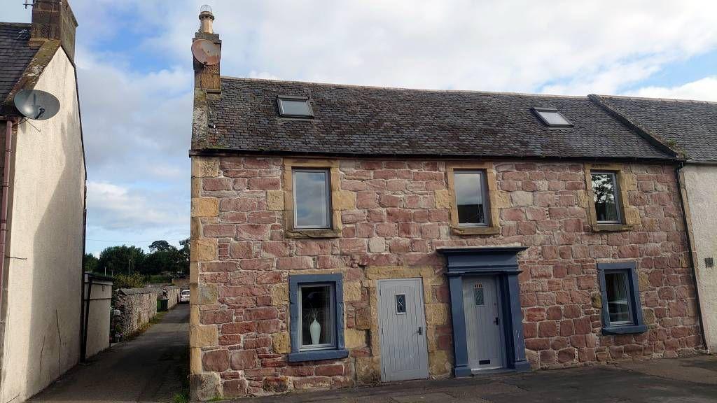 Schottland, Invergordon, Gebäude