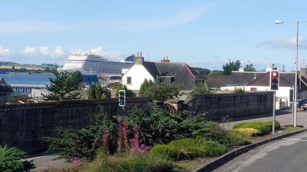 Schottland, Invergordon, MSC Orchestra