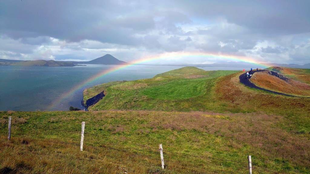 Island, Skutustadir, Scheinkrater