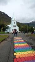 Island, Seyðisfjörður, Kirche