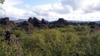 Island, Myvatni, Lavalandschaften