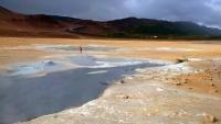 Island, Myvatni, geothermale Felder