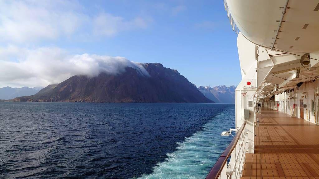 Grönland, Prinz-Christian-Sund, nach der Ausfahrt
