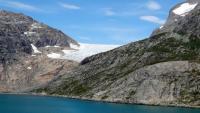 Grönland, Prinz-Christian-Sund, Gletscherlandschaft
