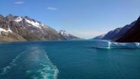 Grönland, Prinz-Christian-Sund, Eisberg