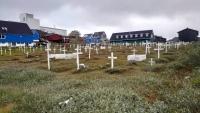 Grönland, Nuuk, Friedhof