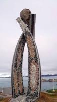 Grönland, Nuuk, Kunstwerk