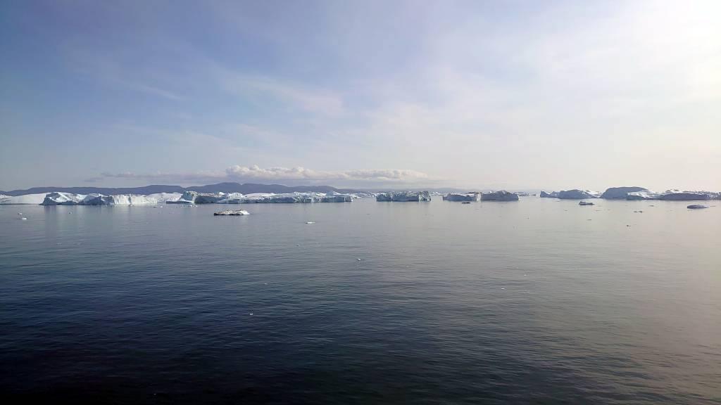 Grönland, Diskobucht, Eisberge